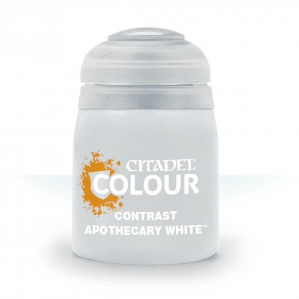 Citadel Contrast Apothecary White