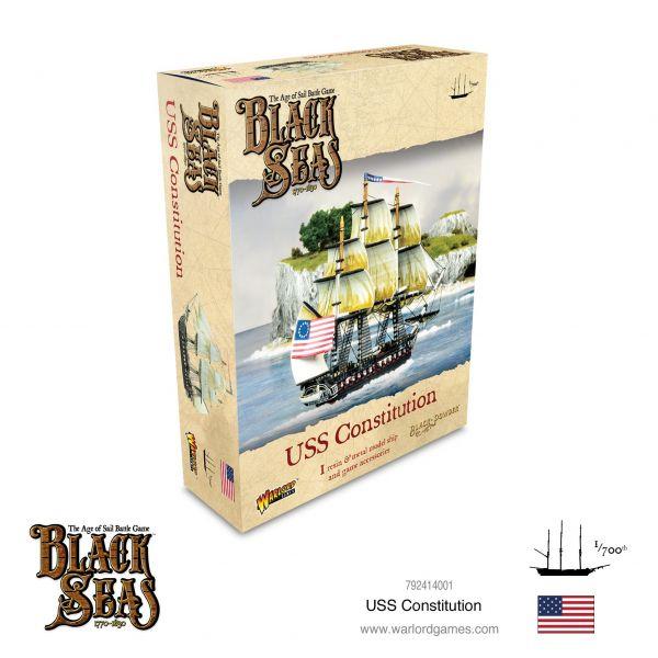 Black Seas USS Constitution