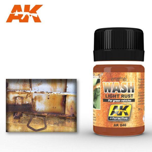 AK Interactive Light Rust Wash