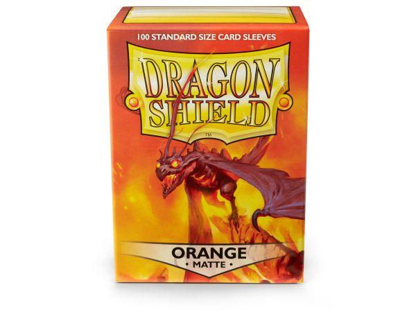 Dragon Shield 100 Matt Orange
