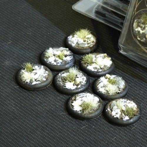 Gamers Grass 30mm Winter Bases, lip