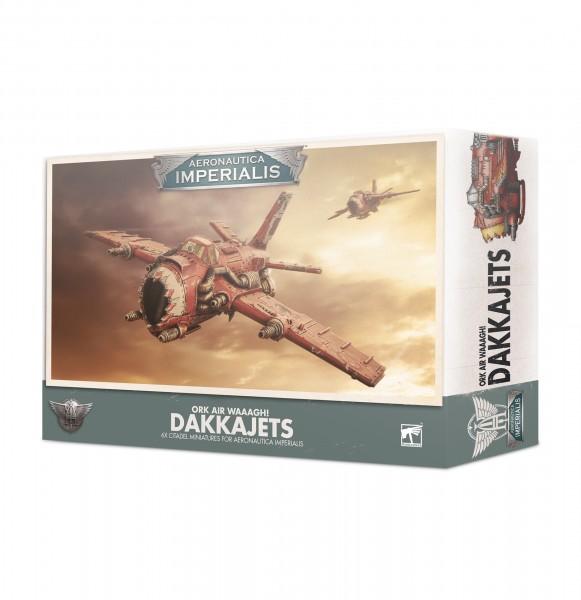 Aeronautica Imperialis Ork Air WAAAGH! Dakkajets