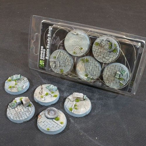 Gamers Grass 40mm Urban Warfare Bases, rund