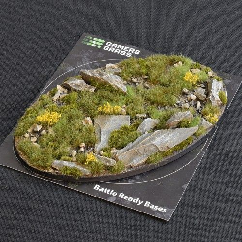 Gamers Grass 170mm Highland Base, oval