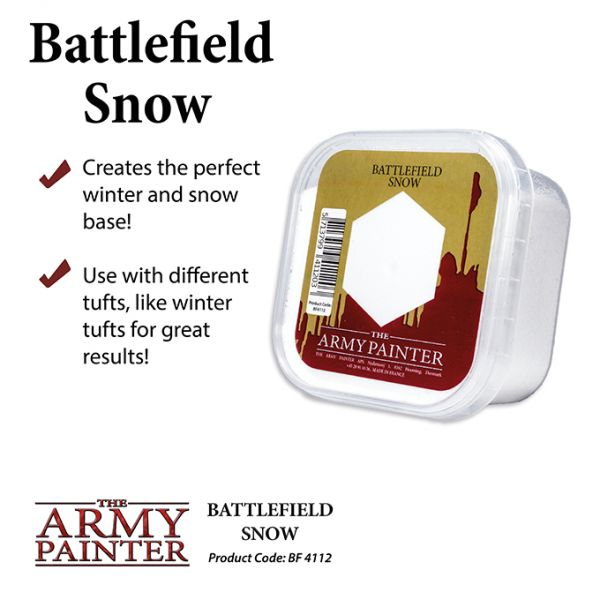 Basing Battlefield Snow