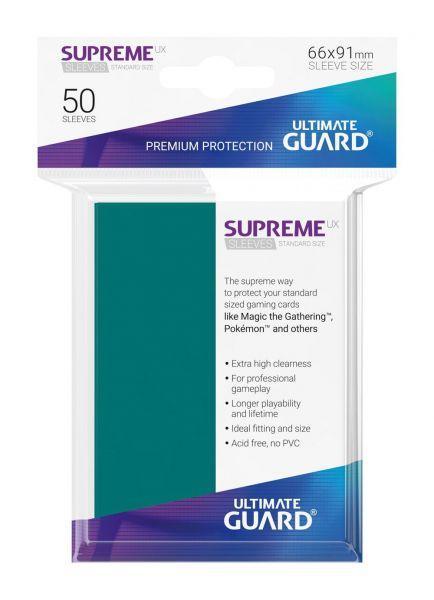 Supreme UX Sleeves Standard Size Petrol
