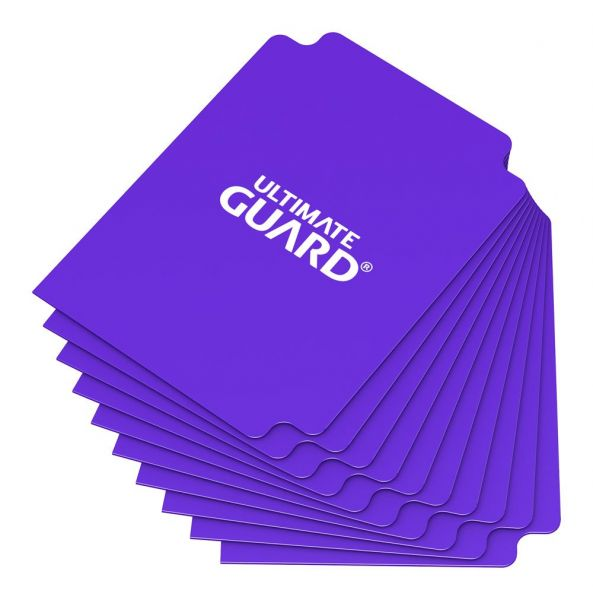 Card Dividers Standard Size Purple