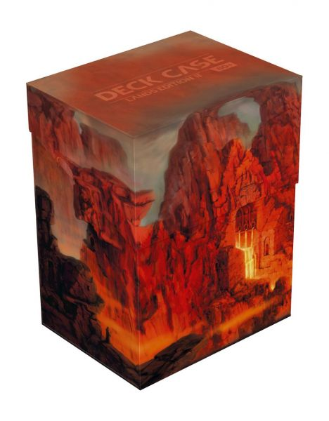 Deck Case 80+ Standard Size Lands Edition II Mountain