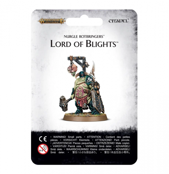 Nurgle Rotbringers Lord of Blights