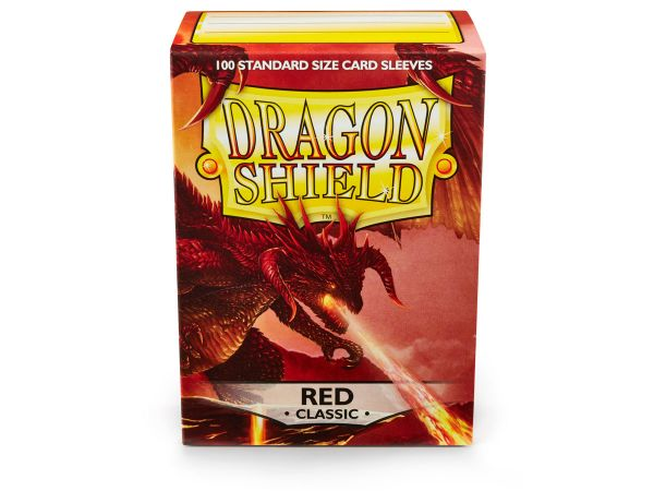 Dragon Shield 100 Classic Clear Red