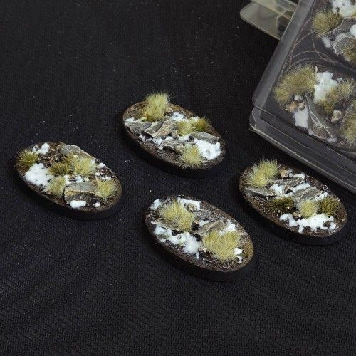 Gamers Grass 60mm Winter Bases, oval