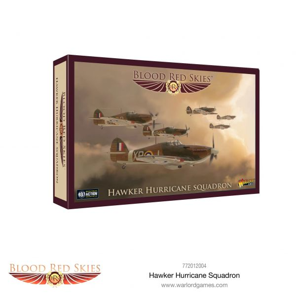 Blood Red Skies Hawker Hurricane Squadron