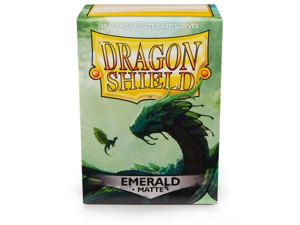 Dragon Shield 100 Matt Emerald