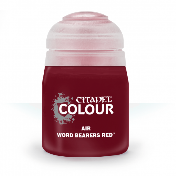 Citadel Air Word Bearers Red