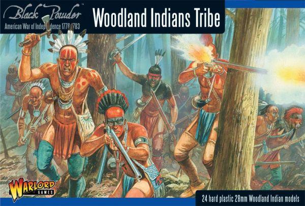 Black Powder Woodland Indians Tribe