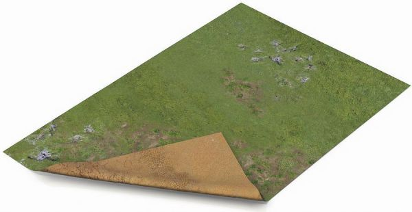 """Gamemat 22""""x30"""" Double Sided G-Mat: Highlands and Sands"""