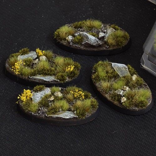 Gamers Grass 60mm Highland Bases, oval